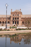 Plaza de Espana in Seville Royalty Free Stock Photography