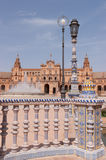 Plaza de Espana in Seville Stock Photography