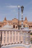 Plaza de Espana in Seville Stock Photography