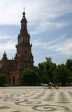 Plaza de Espana (Seville) Royalty Free Stock Images