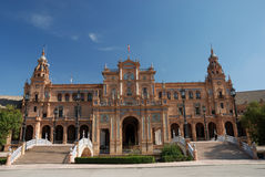 Plaza de Espana in Seville Royalty Free Stock Photos