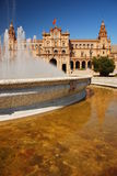 Plaza de Espana, Seville Royalty Free Stock Photos