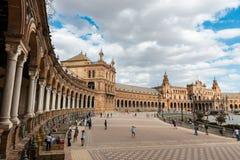 Plaza de Espana in Seville, Andalusia Royalty Free Stock Photo