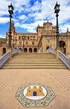 Plaza de Espana in Seville, Andalusia Stock Photos