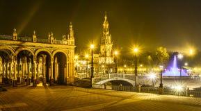 Plaza de espana Seville, Andalusia, Spain. Stock Photos