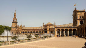 Plaza de espana Seville, Andalusia, Spain, Europe Stock Photography
