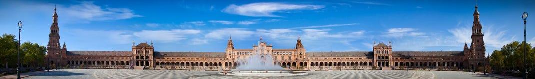 Plaza de Espana in Seville, Andalusia, Spain Stock Photography