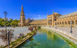Plaza de espana Seville, Andalusia, Spain. Stock Photos