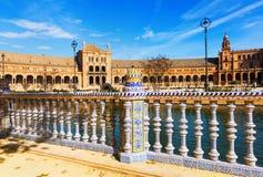 Plaza de Espana. Seville Royalty Free Stock Image