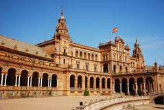 Plaza de Espana in Seville, Spain Stock Photo