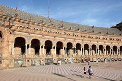Plaza de Espana in Seville, Spain Stock Images