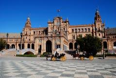 Plaza de Espana, Seville, Spain. Stock Photo