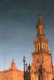 Plaza de Espana in Seville, Spain. Royalty Free Stock Photo