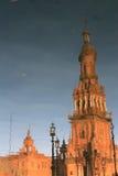 Plaza de Espana in Seville, Spain. Royalty Free Stock Photo