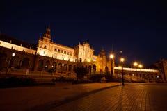 Plaza de Espana in Seville, Spain Stock Images