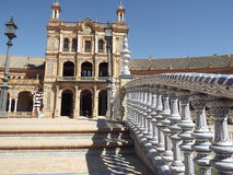 Plaza de Espana, Seville, Spain Royalty Free Stock Image