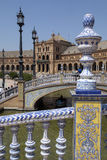 Plaza de Espana - Seville - Spain Royalty Free Stock Image