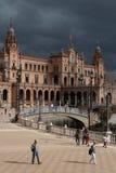 The Plaza de Espana, in Seville Stock Image