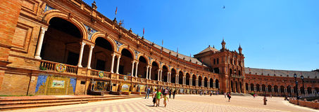 Plaza de Espana, Seville, Spain royalty free stock images