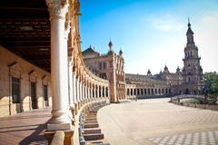 Plaza de Espana, Seville. Spain. Stock Photos