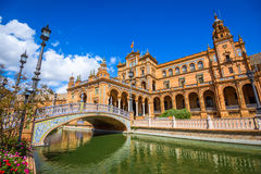 Plaza de Espana, Seville Royalty Free Stock Images