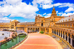 Plaza de Espana, Seville Stock Photo