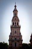 Plaza de Espana, Siviglia immagini stock libere da diritti