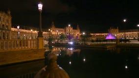 Plaza De Espana Siviglia video d archivio
