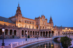 Plaza de Espana Pavilion in Seville Royalty Free Stock Photos