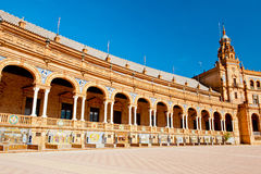 Plaza de Espana in Spain Stock Photos