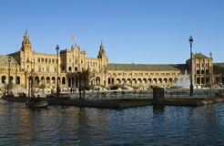 Plaza de Espana (Spain Square), Seville Stock Photo
