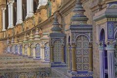Plaza de Espana on spanish city of seville. In andaluzia Stock Photography