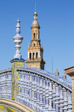 Plaza de Espana - Spanish Square in Seville, Spain Royalty Free Stock Photography