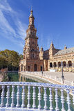 Plaza de Espana - Spanish Square in Seville, Spain Royalty Free Stock Image