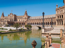 Plaza de Espana (Square of Spain) in Seville Stock Photo