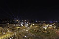 Plaza de Espanaa,巴塞罗那 库存图片