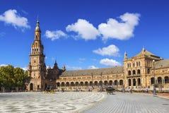 plaza de Espanaa 免版税库存照片
