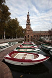 Plaza de Espania, Seville, Spain Royalty Free Stock Photography