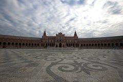 Plaza de Espania, Siviglia, Spagna immagine stock libera da diritti