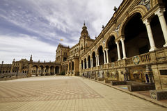 Plaza de Espanol Royalty Free Stock Photography