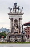 Plaza DE Espanya Barcelona Royalty-vrije Stock Fotografie