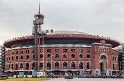 Plaza de Espanya Bullring Βαρκελώνη Στοκ εικόνες με δικαίωμα ελεύθερης χρήσης