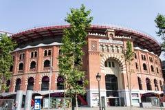 Plaza de Espanya Bullring Βαρκελώνη Στοκ Φωτογραφία