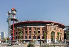 Plaza de Espanya Bullring Βαρκελώνη Στοκ Εικόνα