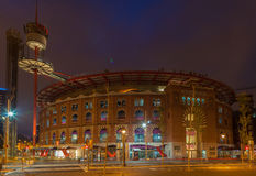 Plaza de Espanya Bullring Barcelona Royalty Free Stock Images