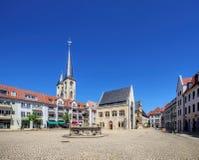 Plaza de Halberstadt fotos de archivo libres de regalías