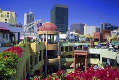 Plaza de Horton, San Diego Fotografía de archivo libre de regalías