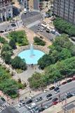 Plaza de JFK, Philadelphie Images libres de droits