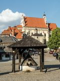 Plaza de Kazimierz Dolny Fotografía de archivo