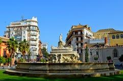 Plaza de l'Espagne Séville Espana (1) Photos stock